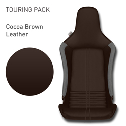 Lotus Elise - Cocoa Brown Leather