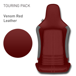 Lotus Elise - Venom Red Leather