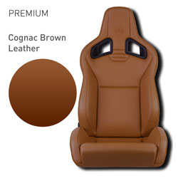 Lotus Elise - Cognac Brown Leather