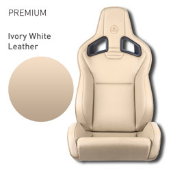 Lotus Elise - Ivory White Leather